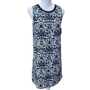 LOFT Midnite Blue Shift Summer Dress M